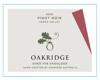 2016 Oakridge Over the Shoulder Pinot Noir $23, Drink now, capable of mid-term cellaring
