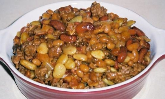 This is the only beans that I make.  Once youve eaten these you cant go back to regular baked beans!