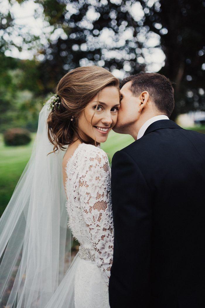 Casamento mágico em Vermont DIY em Riverside Farm   – frisuren