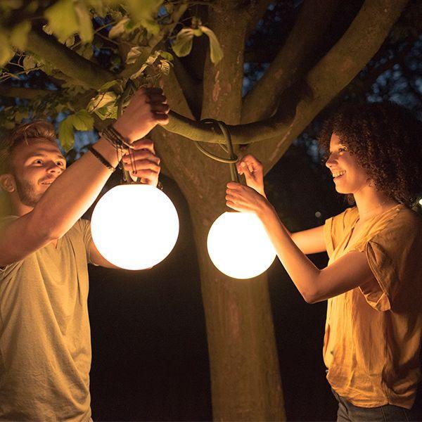 Fatboy Bolleke Lamp Light Grey Outdoor Lighting Outdoor Lamp Outdoor