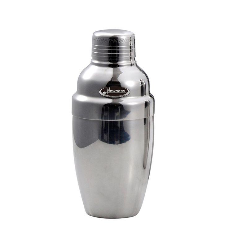 Newness Cocktail Stainless Steel Wine Shaker with Stainer and Lid Top, 8.4oz(250 ml) *** Want additional info? Click on the image.