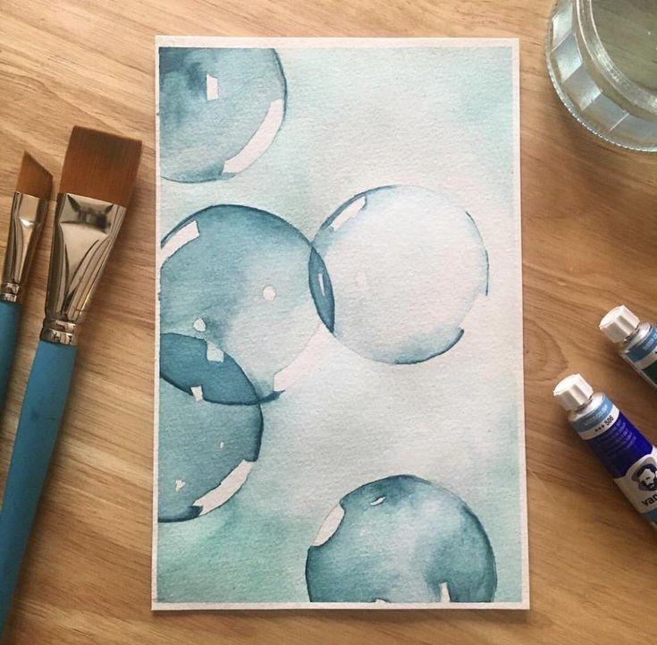 Eine meiner ersten, immer noch einer meiner Favoriten. : Aquarell – Dom G