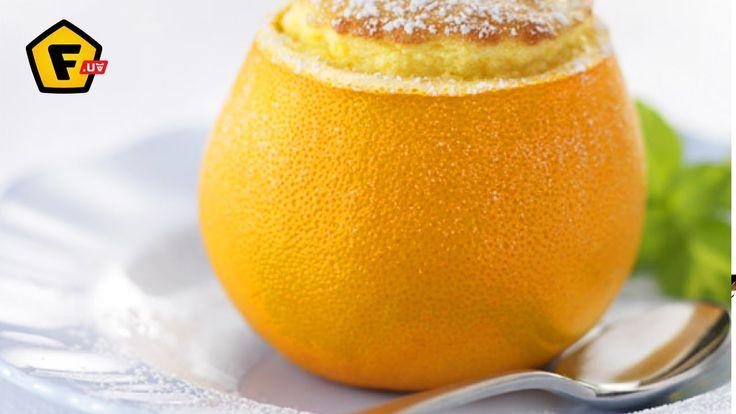 АПЕЛЬСИНО БЕЛКОВОЕ СУФЛЕ ✶ белковый рецепт - суфле с апельсином ✶ Вкуснейший десерт из яичного белка и апельсина.  ➜ Здесь блендеры https://f.ua/shop/blendery/