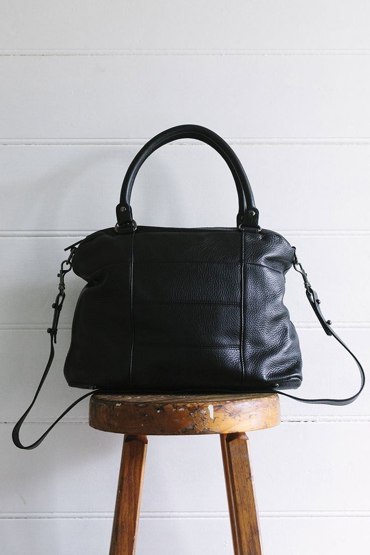 Wanderer Bag in BLACK by Status Anxiety
