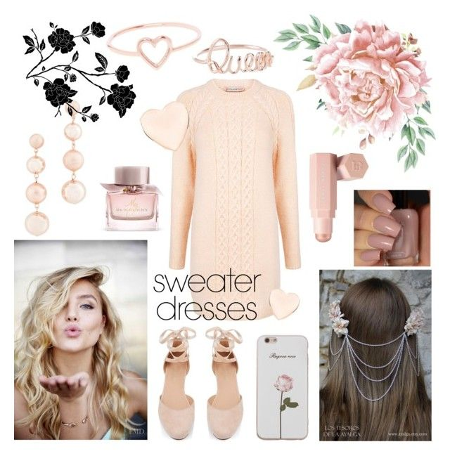 """""""sweater dresses 🌼"""" by flie9enpilz on Polyvore featuring Rebecca Minkoff, Love Is, Burberry, Puma, Paul & Joe Sister and Ted Baker"""