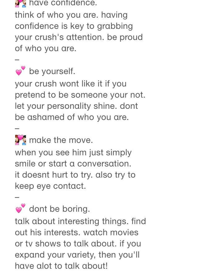 How to talk to your crush part 1 | life hacks | Pinterest