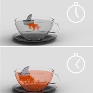 Sharky Tea Infuser - I want this.