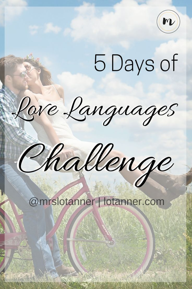 Join our FREE 5 Days of Love Languages Challenge. Over 200 Ways to love your man!!