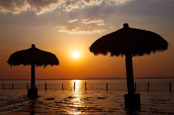 Por do sol na Ilha da Canela - Palmas/Tocantins.