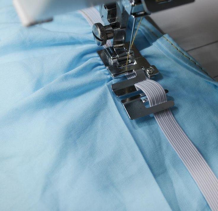 [Visit to Buy] Easy Installation elastic foot home-sewing machine Universal elastic fabric presser foot pressure #Advertisement