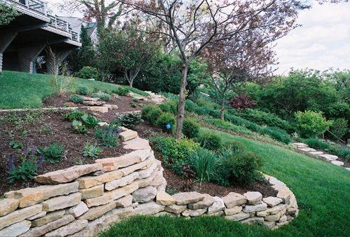 Hill Side In Ground Vegetable Garden Garden