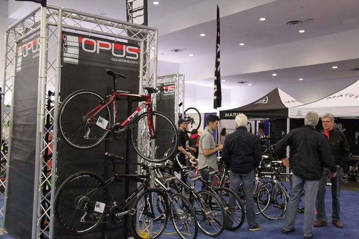 so many new #bikes to look at before we buy @Vancouver Bike Show