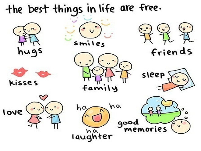 The best things in life are for free essay