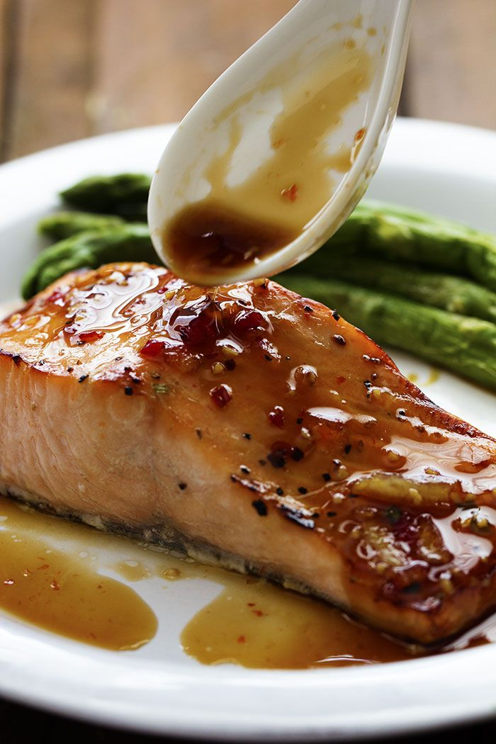 A five star salmon recipe with a delicious sweet chili garlic glaze on top.  The glaze caramelizes the salmon as it broils and will become an instant favorite that you will make again and again!  I…