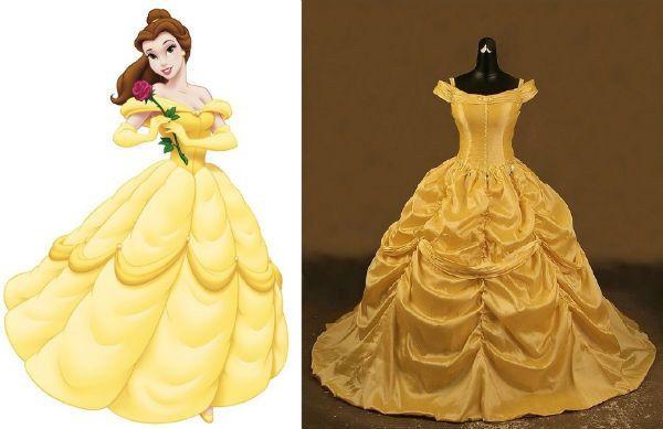 """Bella de """"La bella y la bestia""""   Community Post: 16 disfraces de Disney ridículamente buenos que de hecho puedes comprar"""