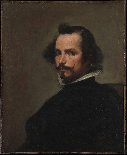 Velázquez (Diego Rodríguez de Silva y Velázquez) (Spanish, Seville 1599–1660 Madrid)   Portrait of a Man