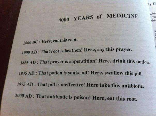 4000 Years Of Medicine: 4000Year, Healthy Stuff, Thi Medicine, 4000 Years, So True, Funny Stuff, 400 Years, The Roots, Healthy Living