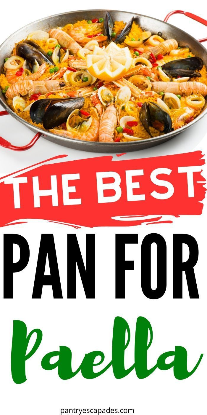 The Best Pan For Paella In 2020 Best Pans Best Pans For Cooking Cooking