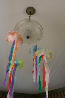 Life with Moore Babies: Coffee Filter Jellyfish
