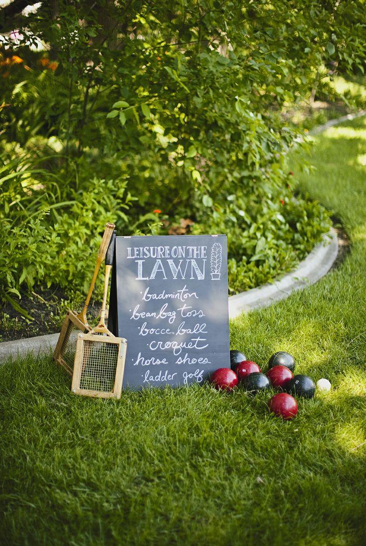 Calgary Wedding Photographer » Genevieve Renee   Garden Outdoor Wedding Games