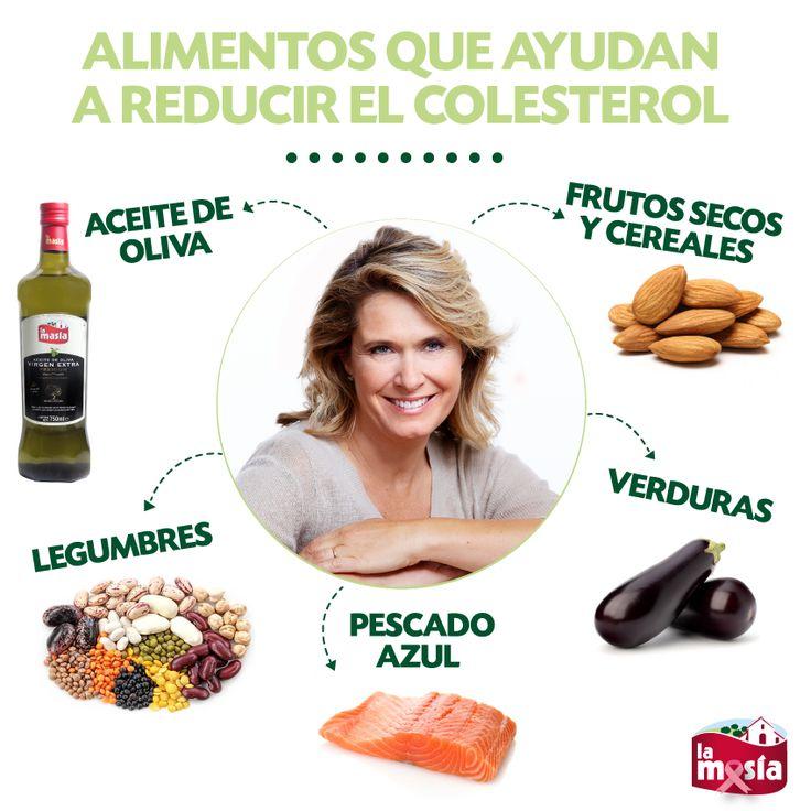 Mantén a raya el #colesterol tomando estos alimentos. #trucosalud #salud