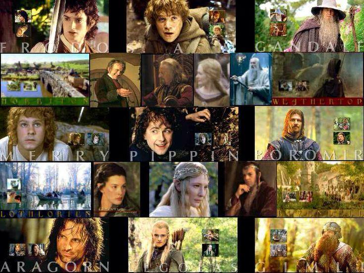 Lord of the Rings  The Fellowship of the Ring •Aragorn/Viggo Mortensen  •Ian McKellen/Gandalf the Grey/White. •Frodo Baggins/Elijah Wood  •Sean Astin/Samwise 'Sam' Gamgee  •Noel Appleby/Everard Proudfoot  •Sala Baker/Sauron  •Sean Bean/Boromir  •Cate Blanchett/Galadriel  •Orlando Bloom/Legolas Greenleaf  •Billy Boyd /Peregrin 'Pippin' Took  •Marton Csokas /Celeborn  •Megan Edwards/Mrs. Proudfoot  •Michael Elsworth/Gondorian Archivist  •Mark Ferguson/Gil-Galad  •Ian Holm/Bilbo Baggins…