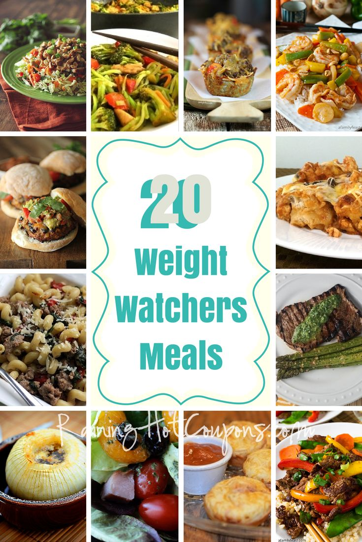 *Get more RECIPES from Raining Hot Coupons here* *Pin it* by clicking the PIN button on the image above! Repin It Here Yummy! Below is a list of 20 Weight Watchers meals! Enjoy… Pepperoni Pizza Muffins Recipe ~Mommy Enterprises Beef Teriyaki and Vegetables ~A Family Feast A New Pizza – No Sauce and a Light Crust …