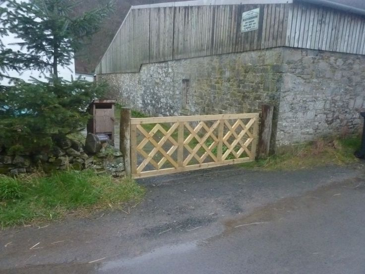 gate  to keep the dog and the sheep separated