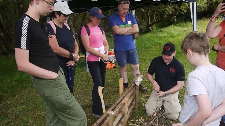 Survivalist Ireland skills #caminofestirl #wicklow #ireland