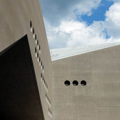 #concrete #dry #wet #aggregate #tuff #volcanic #eifel #landesmuseum #christ&gantenbein