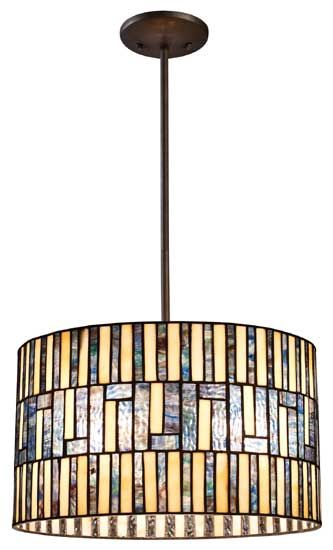 Landmark 720503 ocean mirage tiffany pendant light lan 720503