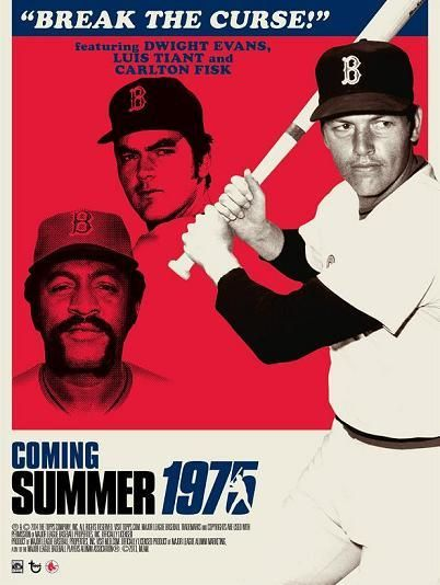 Dwight Evans, Luis Tiant and Carlton Fisk