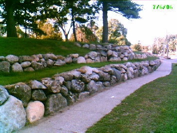 unbelievable curved gabion wall. Back hill  rock retaining wall 45 best RETAINING WALLS images on Pinterest Garden ideas