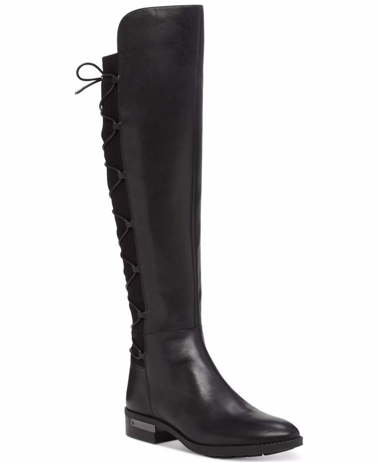 Vince Camuto Parle Tall Boots Black M(Medium)  NWB #VinceCamuto #Boots