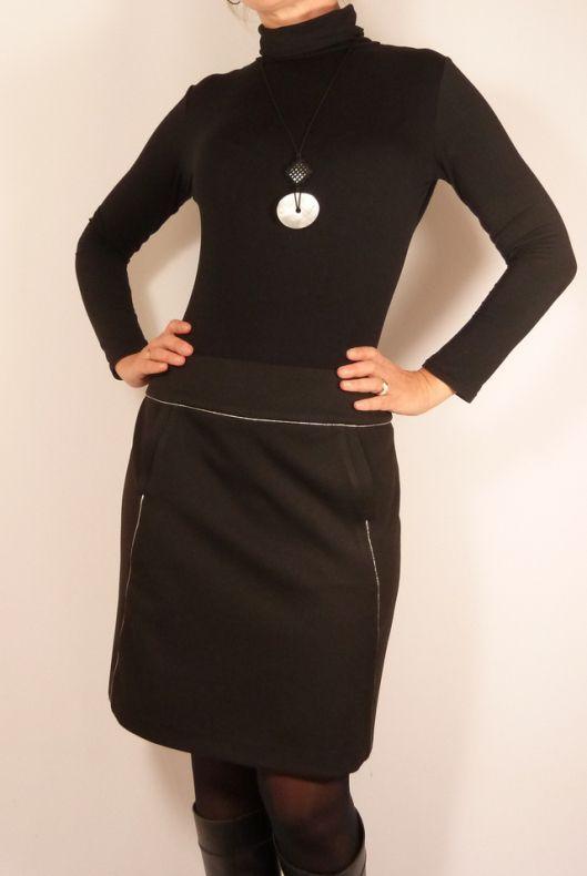 Jupe Sélénite - Patron de couture de jupe droite // Histoire de coudre Made by SB Créations