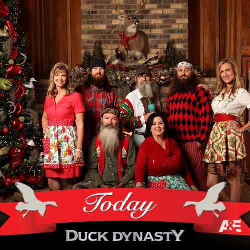 christmas meet the cast of duck