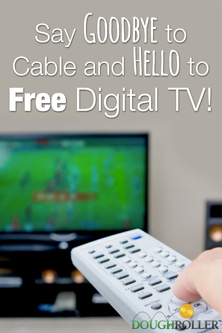 So long cable! Hello free digital TV! Learn how you can cut the cord to cable and find great deals today!