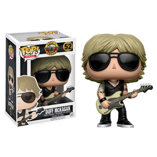 Guns N' Roses Duff Mckagan Pop! Vinyl Figure - Funko - Guns N Roses - Pop! Vinyl Figures at Entertainment Earth