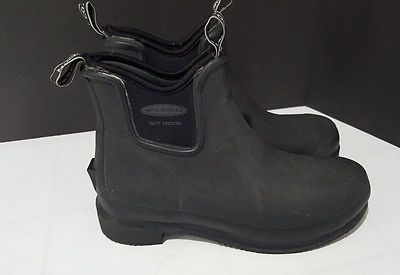 """MUCK BOOTS Women's Black 6"""" Brit Middie All Conditions Riding Boots Sz 7 / 7.5"""