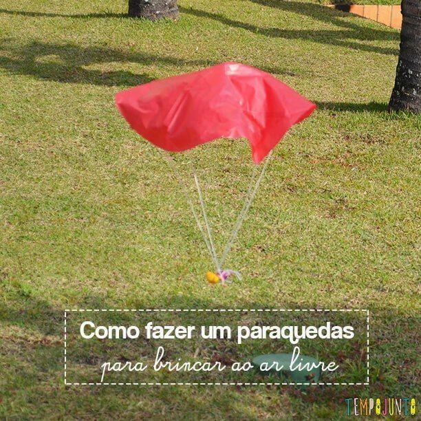 Paraquedas E Diversao Garantida Para Fazermos Ao Ar Livre