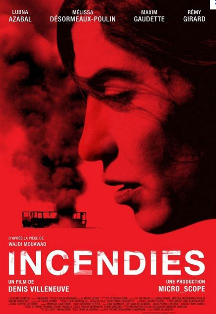 INCENDIES. DENIS VILLENEUVE 2011.