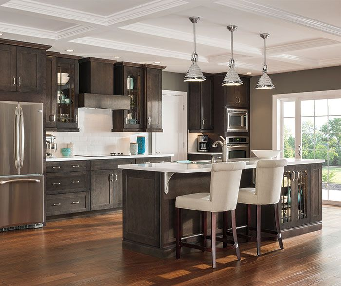 dark shaker kitchen cabinets today s trend toward open plan living lets friends and 6454
