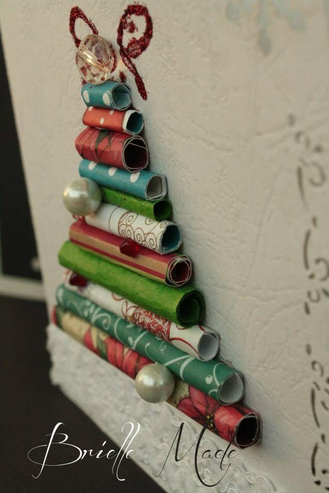Christmas pipe card by briellemade.deviantart.com on @deviantART X-Mas