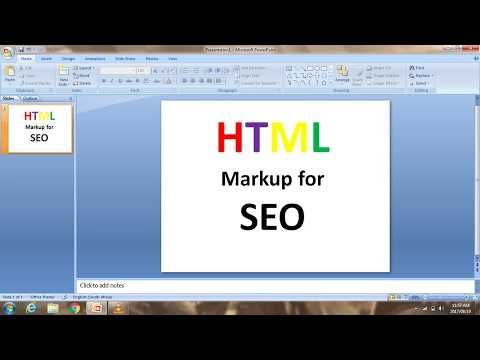 How to improve your HTML Markups for improves Search Engine Optimization SEO Rankings... #HTML #Markups #Webdesign
