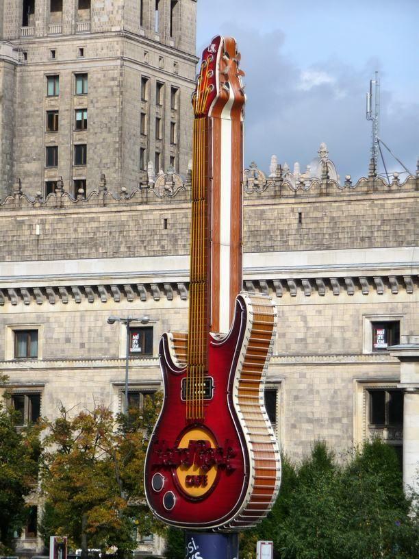 Hard Rock Cafe w Złotych Tarasach