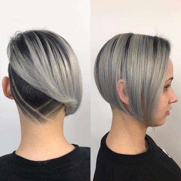 23+ Womens undercut bob hairstyles ideas