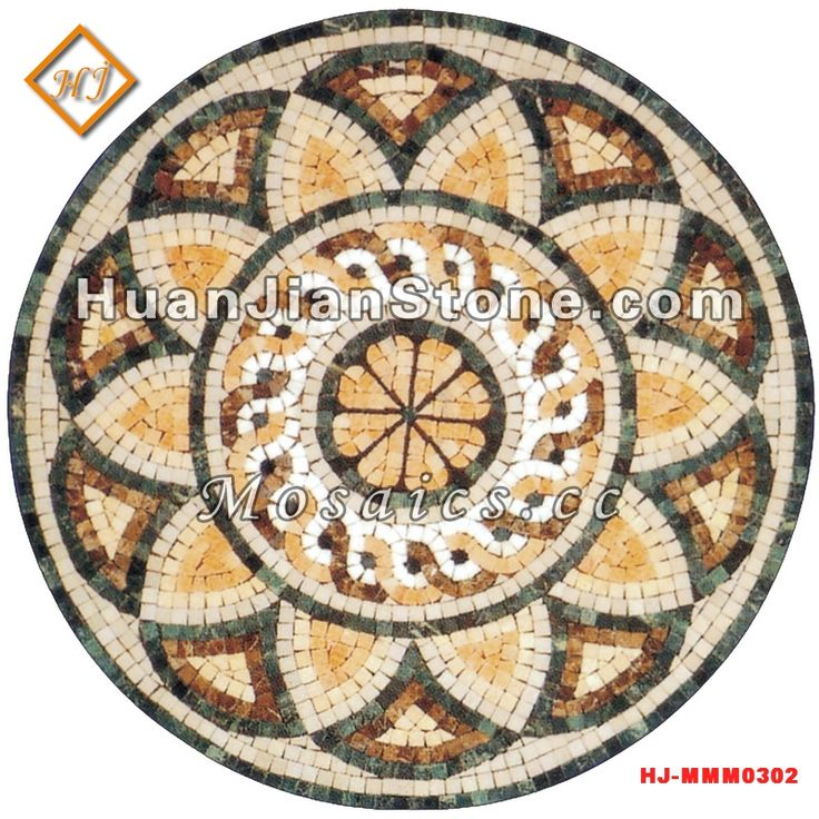 mosaic medallion tile supplier - HuanJian supply mosaic medallion ...