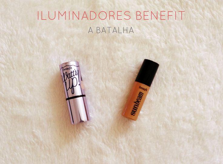 Iluminadores Benefit - A Batalha | New in Makeup
