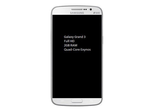 Latest Samsung Phones in india: Samsung Galaxy Grand 3
