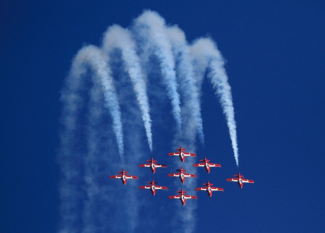 Abbotsford BC, The Snowbirds at the Abbotsford Airshow